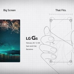 LG G6 might be the only smartphone with no visible bezels