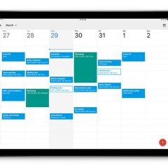Google Calendar finally has an iPad version