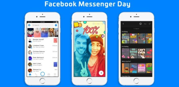 Facebook takes on Snapchat Stories with 'Messenger Day'