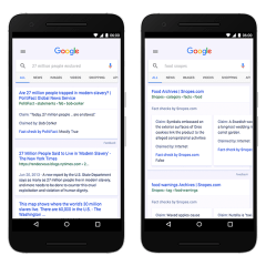 "Google adds ""Fact Check"" tool to Search and News"