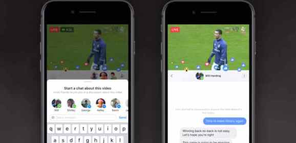 Facebook adds option to watch Live videos privately with your friends