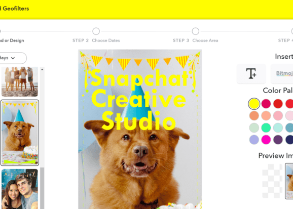 Snapchat launches new tool to help you create custom geofilters
