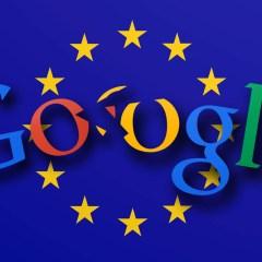 Google set to be slammed with a hefty EU fine