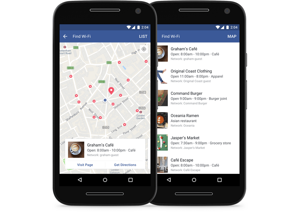 New Facebook Feature Will Help You Find WiFi Wherever You Are