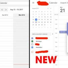 Google Calendar is getting a dazzling new interface