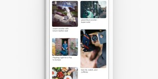 Pinterest adds Lens to home feed