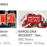 YouTube has a new section for Breaking News across all platforms