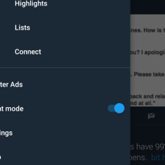 Twitter testing desktop version of Night Mode