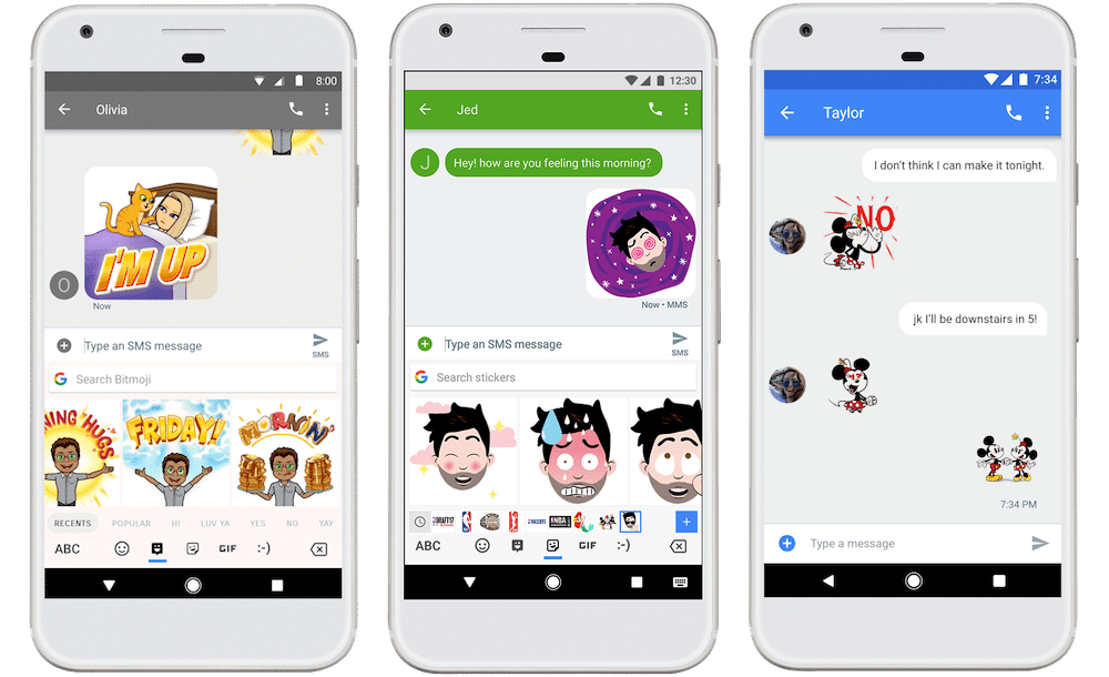 It's official] Gboard Beta 6.5 adds support for Bitmoji and stickers