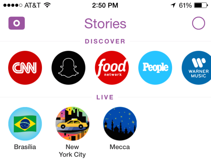 Snapchat Adds College Newspaper To Discover