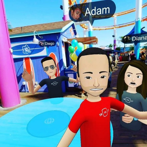 Facebook Spaces Combines 2 Ultra-Popular Technologies to Make Cyber Hangouts a Reality
