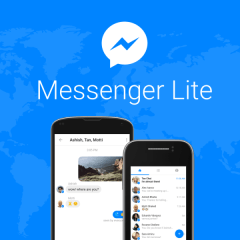 Facebook's Messenger Lite for Android makes its way to the US, Canada and the UK