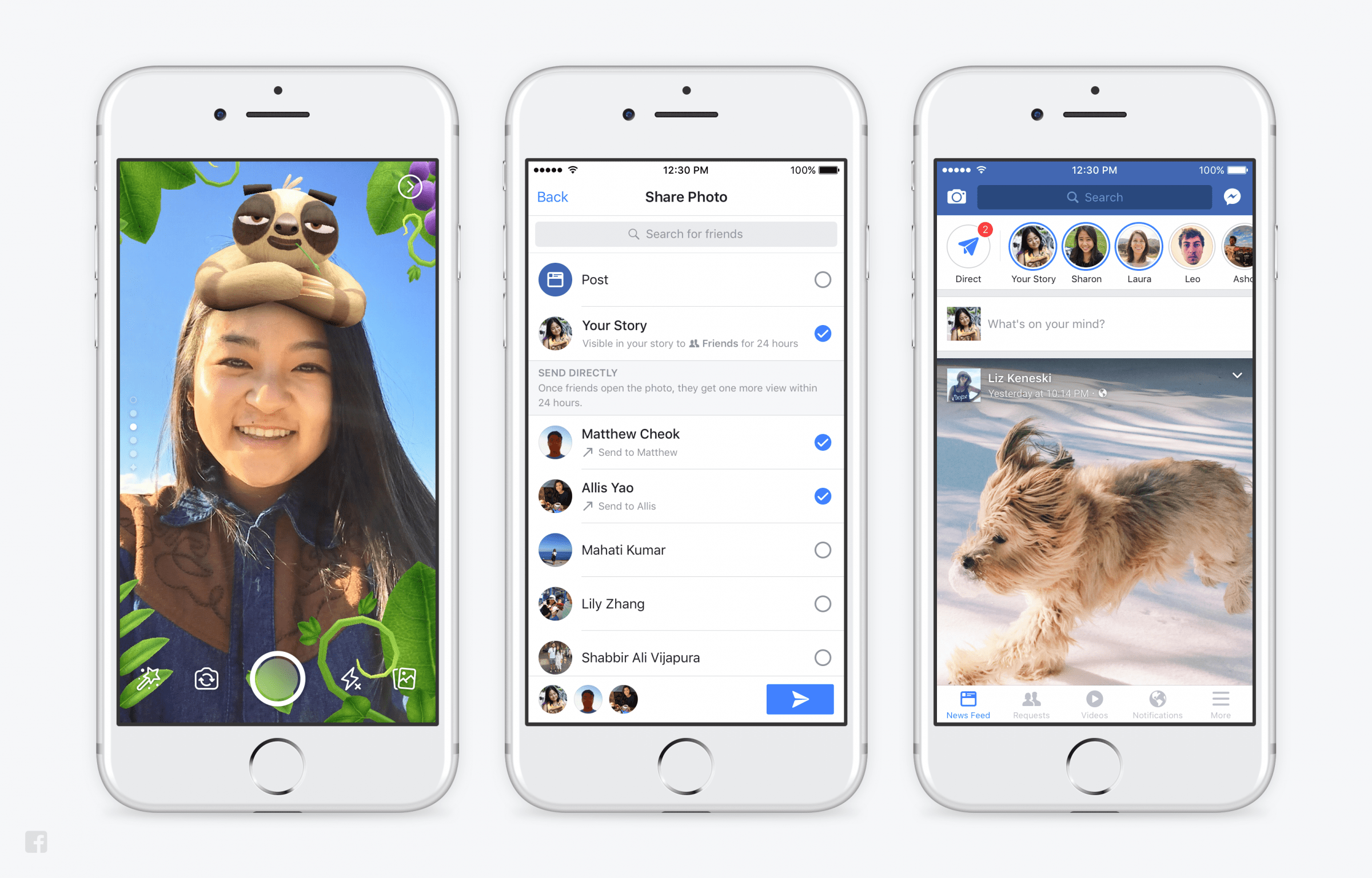 Facebook Brings Stories To Pages