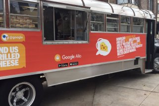 Google steps up Allo marketing by handing free grilled cheese sandwiches on the streets