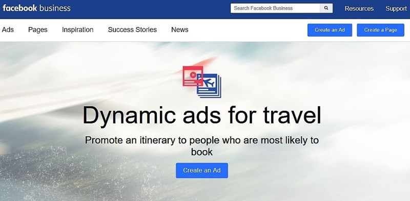 facebook dynamic travel ads