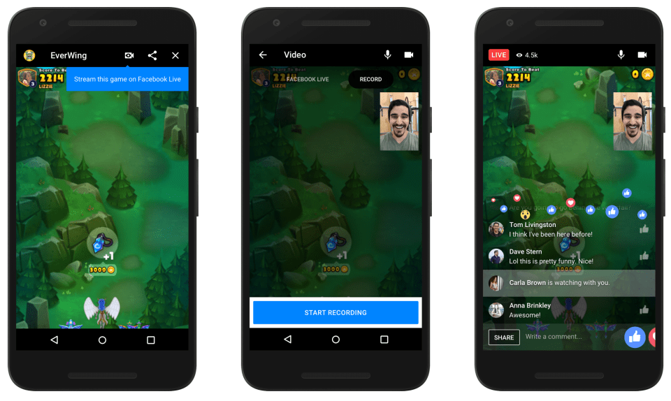 Facebook Messenger Games List
