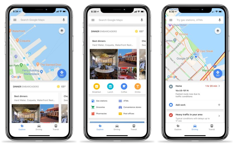 Google Maps For IOS Updated With Real Transit Info