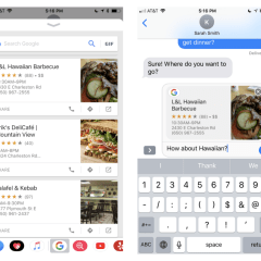 Google Search integrated into iMessage