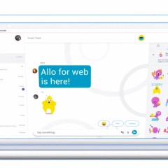 Google Allo for web is currently being reengineered to work separately from phone