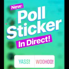 Instagram polls now available via Direct Message