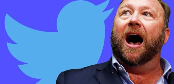 Twitter removes loads of accounts affiliated with Infowars and Alex Jones
