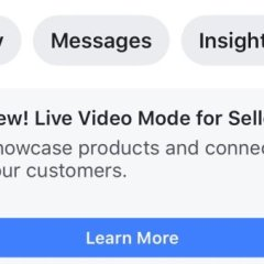 Facebook is testing Live video shopping mode for sellers