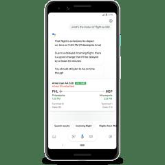 Google Assistant will show predicted flight delays