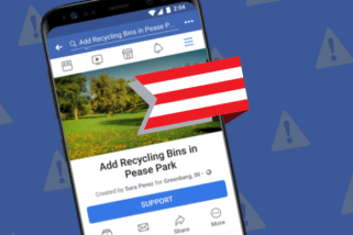 Facebook has a new feature, Community Actions