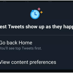 Twitter's reverse chronological feed is now live on Android