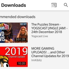 YouTube is testing a video recommendation download feature