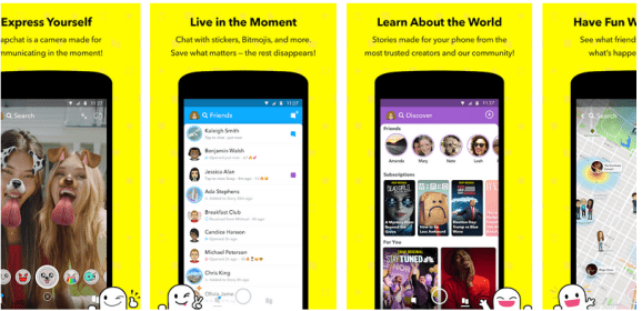 Snapchat begins public testing of its redesigned app for Android