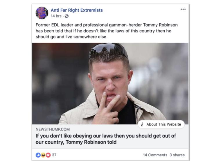 hate speech divisive content