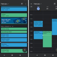 Google Calendar also gets the Dark Mode