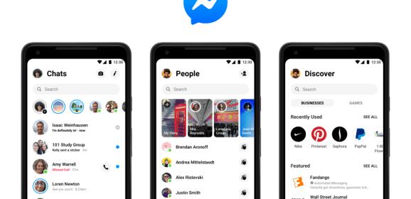 Facebook's new design for Messenger now rolling out on desktop