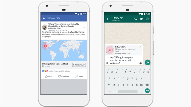 Crises Response Tool by Facebook - New Updates and WhatsApp Integration