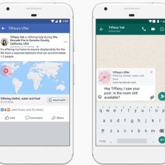 Facebook's Crisis Response feature now works with WhatsApp