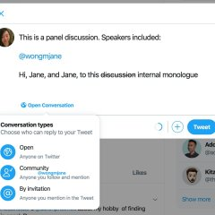 Twitter is testing Conversation Control on desktop