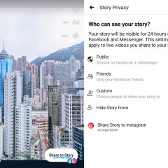 Facebook could soon let you cross-post Stories to Instagram