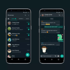 WhatsApp's dark mode now widely available on iOS and Android