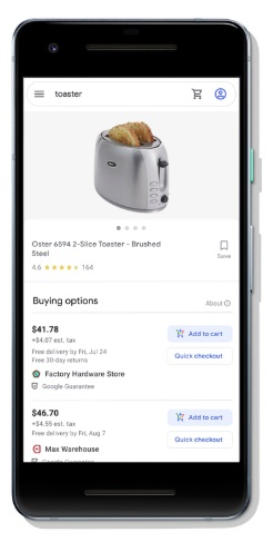 buy on google listing product discovery