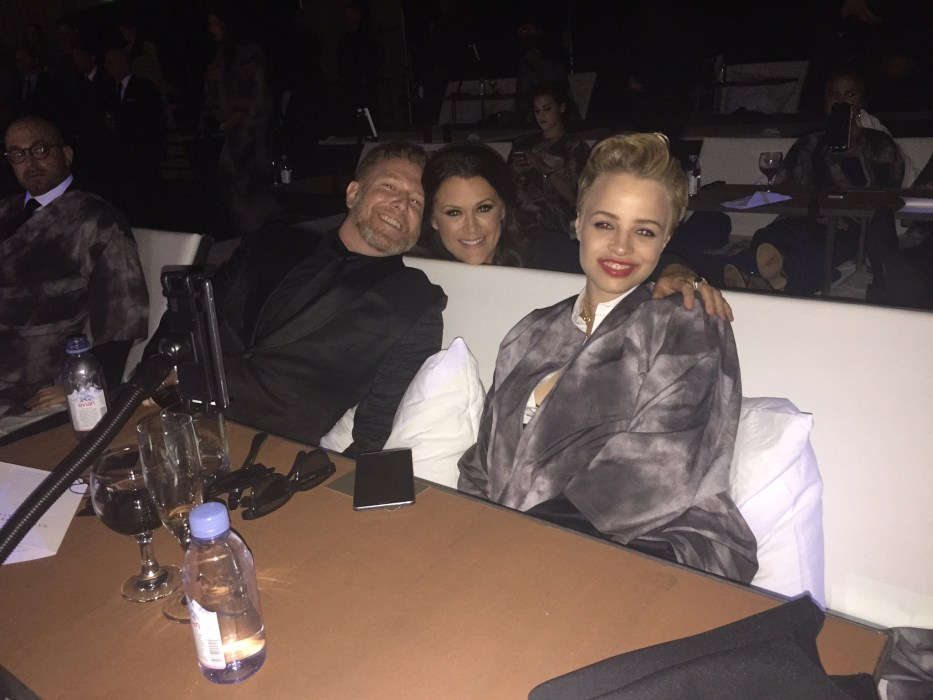 Ryan Kavanaugh, Fiance Jessica and Jennifer Howell in Bed
