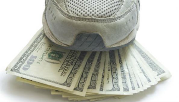 money-sneaker-rotator
