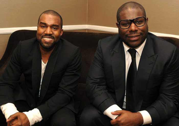 Kanye West and Steve McQueen