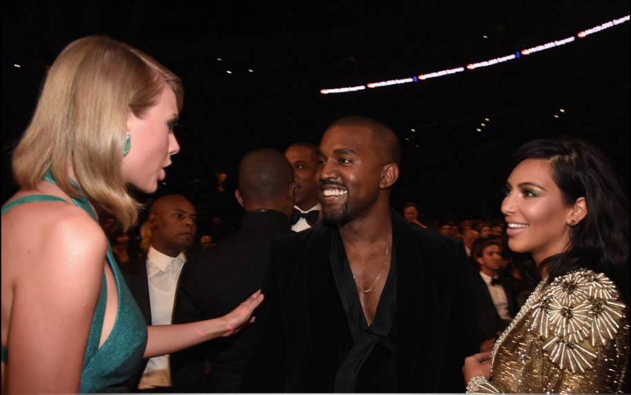 The drama +Kanye West_Taylor Swift