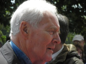 Tony Benn at Tolpuddle in 2011