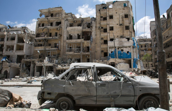 Al Quds hospital, Aleppo