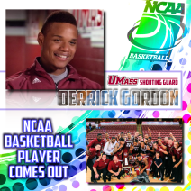 NCAA basketball Player Comes Out
