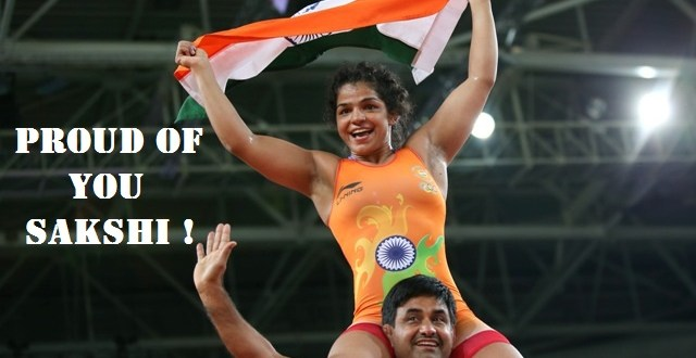 Sakshi Makes India Proud at Rio 2016
