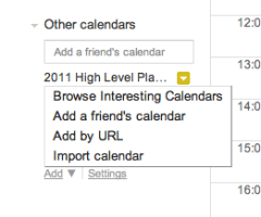 Google Calendar