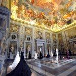 10/07/2015. Altaroma. La mostra ' Couture/Sculpture '. La Galleria Borghese ospita gli abiti di Azzedine Alaia